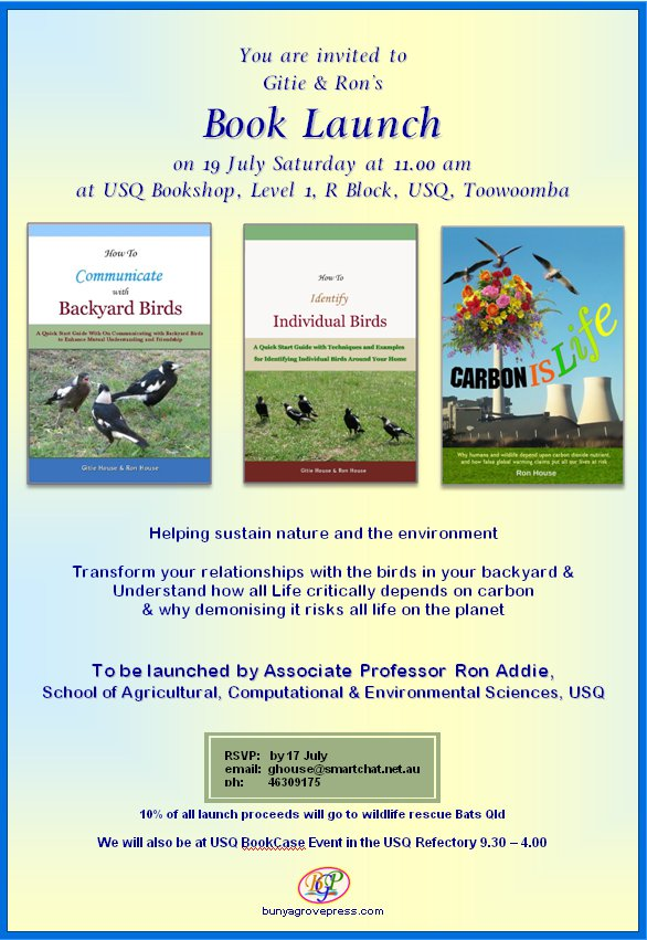 Book Launch - 19 July