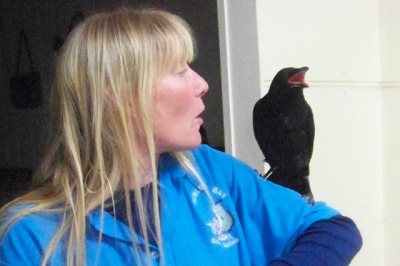 Belinda-and -crow